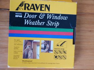 Raven weatherstrip to be given away to a member