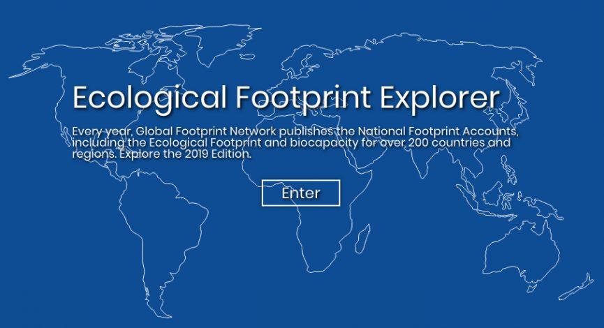 Online Ecological Footprint